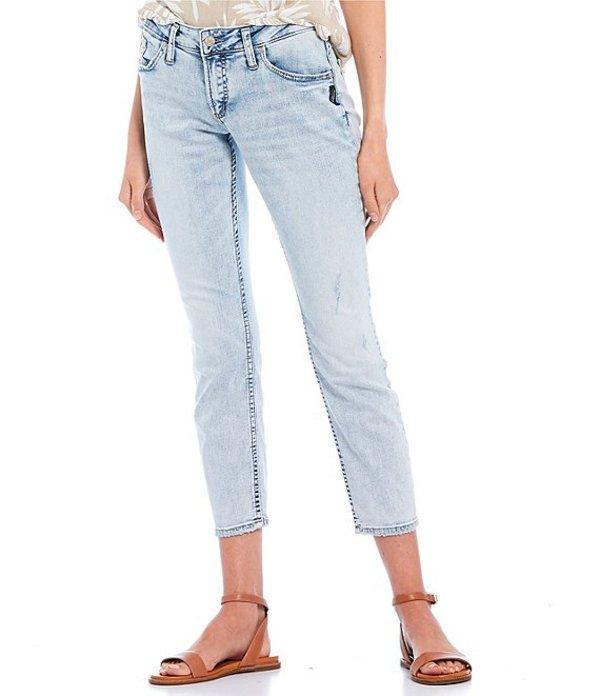 シルバー ジーンズ レディース デニムパンツ ボトムス Boyfriend Jeans Indigo