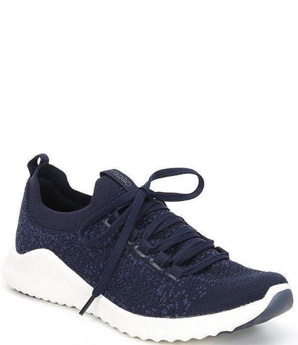 エイトレックス レディース スニーカー シューズ Carly Knit Lace Sneakers Navy
