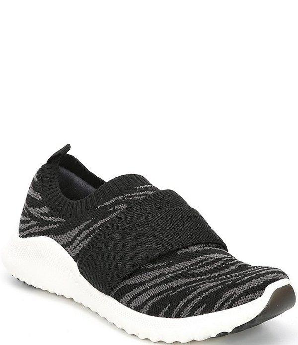 エイトレックス レディース スニーカー シューズ Allie Slip-on Knit Sneakers Black