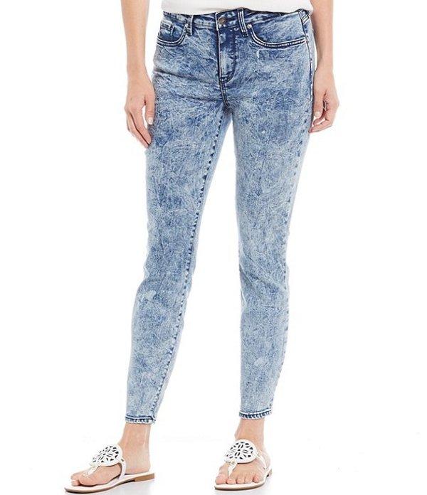 エヌワイディージェイ レディース デニムパンツ ボトムス Ami Acid Wash Skinny Ankle Jeans Caladesi