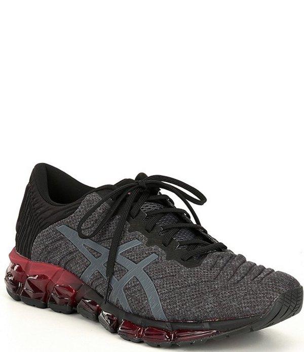 アシックス メンズ スニーカー シューズ Men's GEL-Quantum 360 5 Running Shoes Black/Carrier Grey