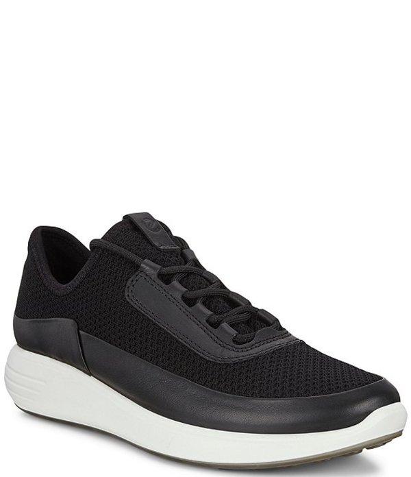 エコー レディース スニーカー シューズ Women's Soft 7 Runner Sneakers Black/Black