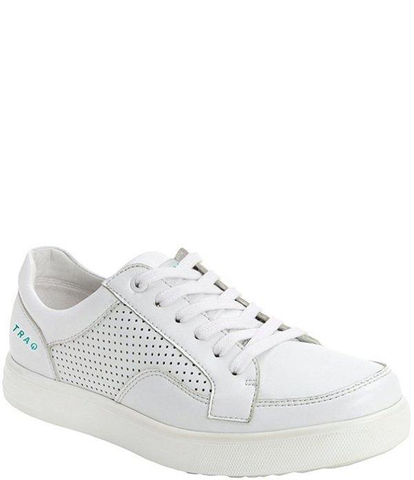 アレグリア レディース スニーカー シューズ Lace Up Leather Sneakers White