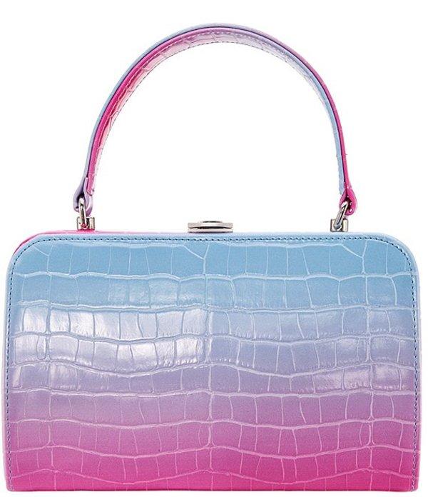 ニナ レディース ハンドバッグ バッグ Top Handle Satchel Bag Pink/Blue