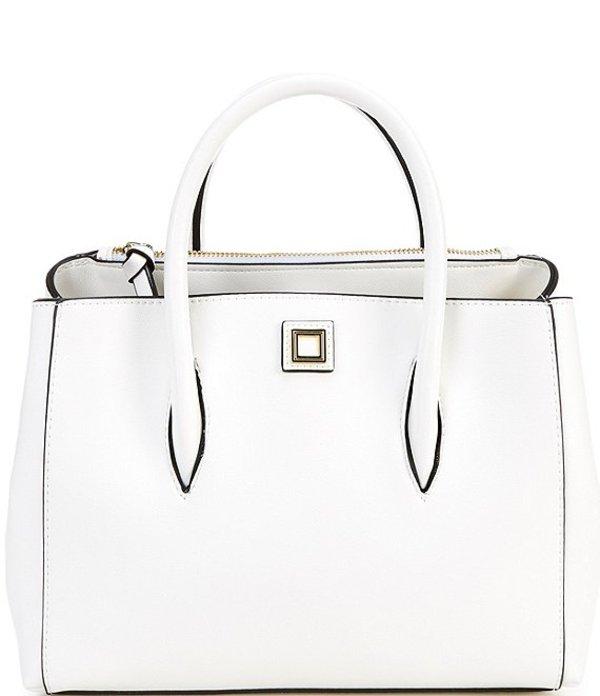 ジャンビニ レディース ハンドバッグ バッグ Mallory Medium Satchel Bag White