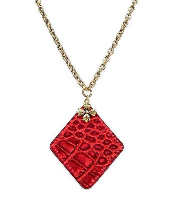 パトリシアナシュ レディース ネックレス・チョーカー アクセサリー The Abella Floret Reversible Rhombus Necklace Gold