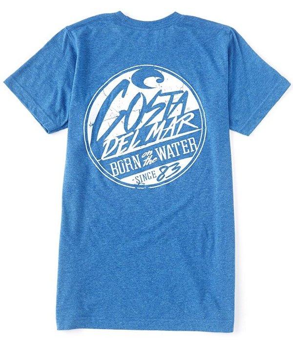 コスタ メンズ シャツ トップス Slater Graphic Short-Sleeve T-Shirt Royal Heather