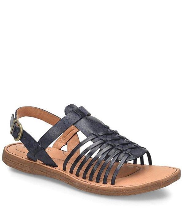 ボーン レディース サンダル シューズ Santiam Leather Huarache Sandals Navy
