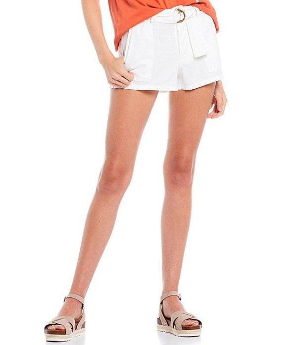 オニール レディース ハーフパンツ・ショーツ ボトムス Cambridge High Rise Woven Shorts Winter White
