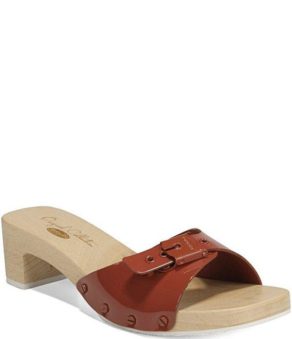 ドクターショール レディース サンダル シューズ Original Mix Patent Leather Sandals Burgundy