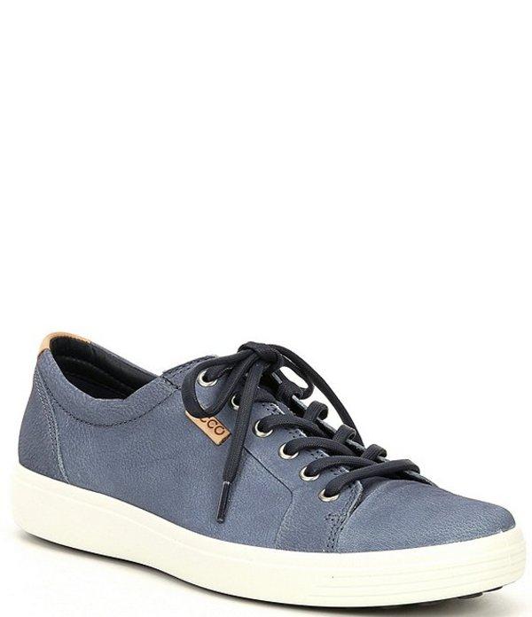 エコー メンズ ドレスシューズ シューズ Men's Soft VII Leather Sneakers Ombre/Powder