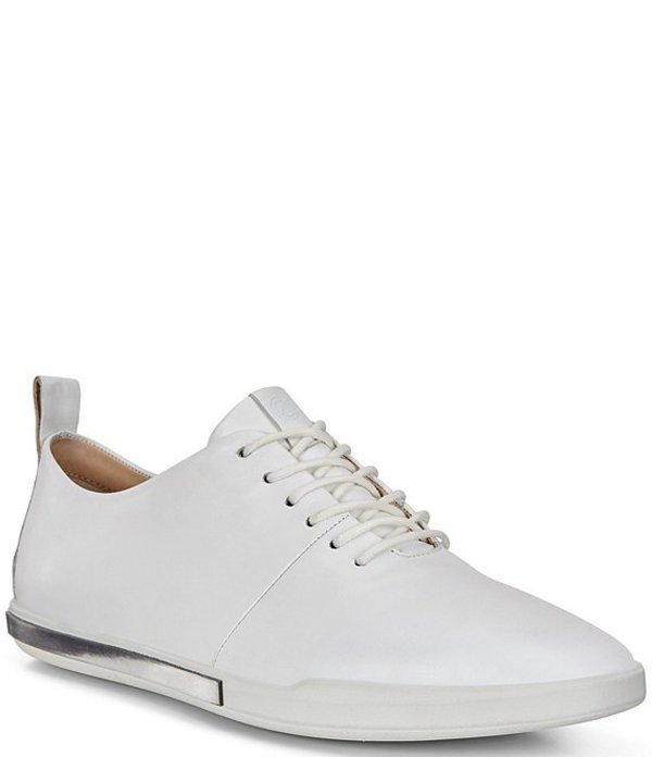 エコー レディース スニーカー シューズ Simpil II Tie Leather Sneakers White