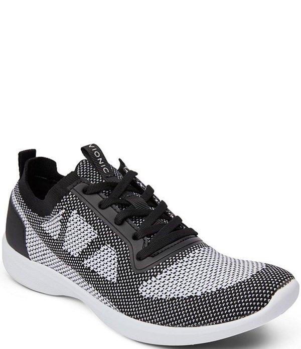バイオニック レディース スニーカー シューズ Lenora Mesh & Fabric Lace Sneakers Black