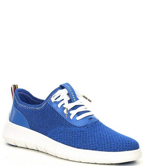 コールハーン メンズ スニーカー シューズ Men's Generation ZEROGRAND Stitchlite Sneakers Blue/Optic White