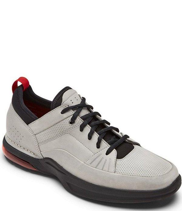 ロックポート メンズ ドレスシューズ シューズ Men's Howe Street Lace Up Leather Sneakers Light Grey