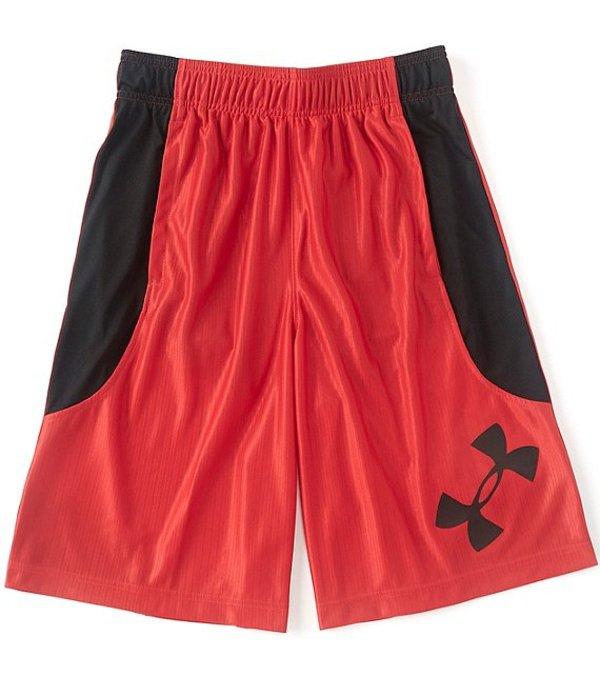 アンダーアーマー メンズ ハーフパンツ・ショーツ ボトムス UA Perimeter 11#double; Inseam Loose fit Shorts Red