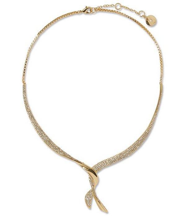 ヴィンスカムート レディース ネックレス・チョーカー アクセサリー Crystal Collar Necklace Gold