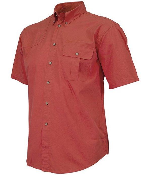 ベレッタ メンズ シャツ トップス TM Short-Sleeve Woven Shooting Shirt Red Check