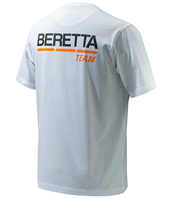 ベレッタ メンズ シャツ トップス Team Logo Short-Sleeve Tee White