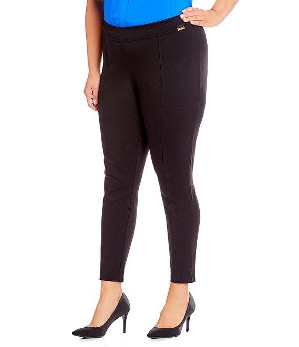 カルバンクライン レディース カジュアルパンツ ボトムス Plus Size Compression Pant Black