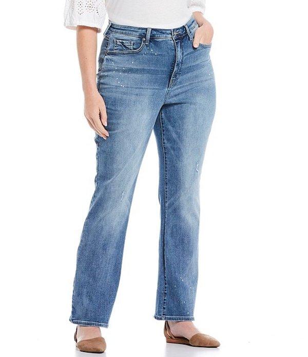 エヌワイディージェイ レディース デニムパンツ ボトムス Plus Size Slim Bootcut Jeans Sandspur