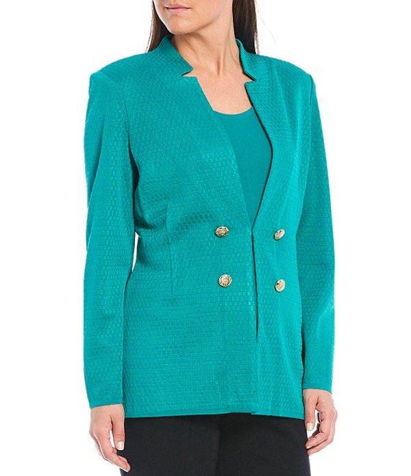 ミンウォン レディース ジャケット・ブルゾン アウター Long Sleeve Notch Collar Button Detail Jacket Malachite