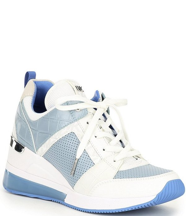 マイケルコース レディース スニーカー シューズ MICHAEL Michael Kors Georgie Trainer Extreme Sneakers Blue