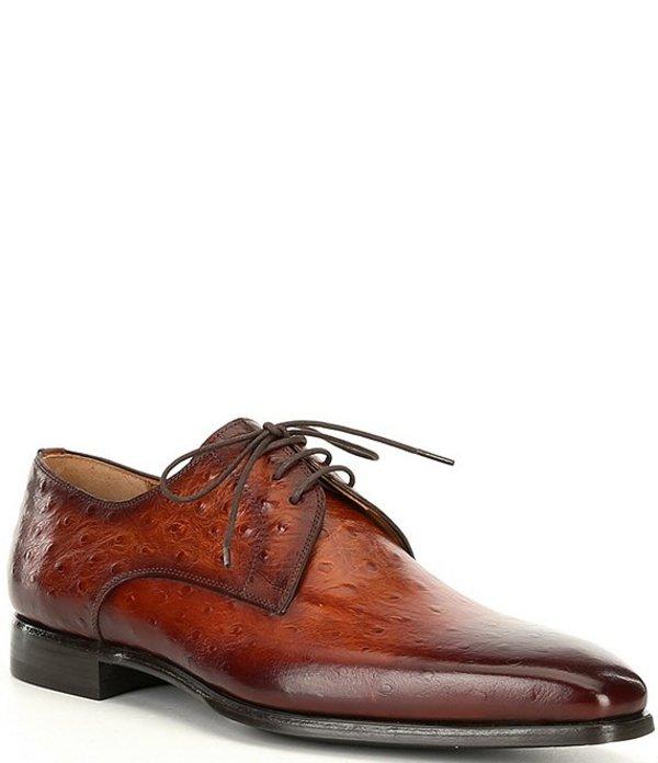 マグナーニ メンズ ドレスシューズ シューズ Men's Rincon Plain Toe Oxfords Cognac