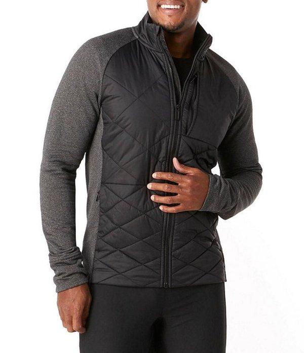 スマートウール メンズ ジャケット・ブルゾン アウター Smartwool Smartloft 120 Wind-Resistant Full-Zip Jacket Black