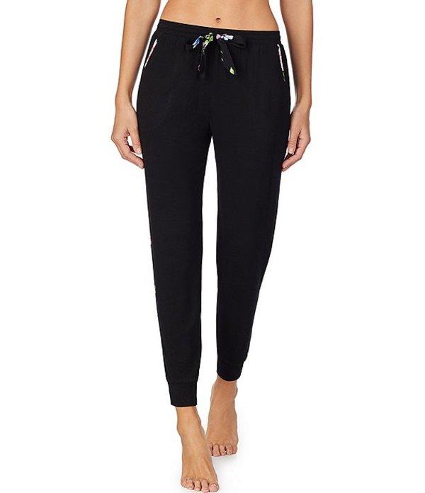 ケンジー レディース カジュアルパンツ ボトムス Solid Knit Jogger Sleep Pants Black