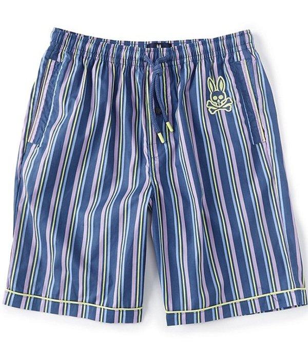 サイコバニー メンズ ハーフパンツ・ショーツ ボトムス Pisco Stripe Woven Pajama Shorts Pisco Stripe