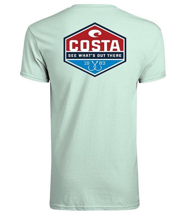 コスタ メンズ シャツ トップス Technical Trinity Short-Sleeve Graphic T-Shirt Mint