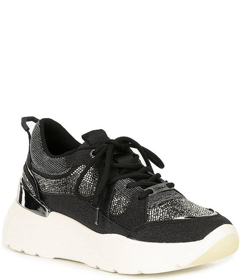 カーベラ・カート・ジェイガー レディース スニーカー シューズ Louder Platform Wedge Sneakers Black