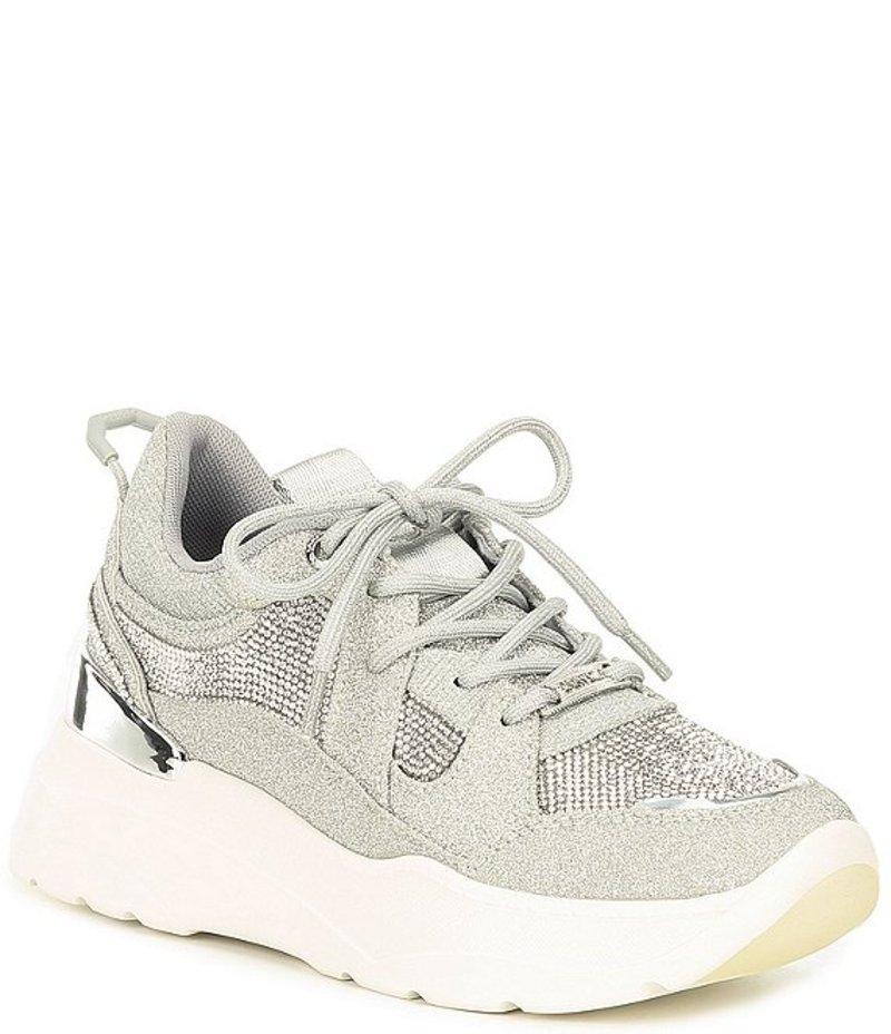 カーベラ・カート・ジェイガー レディース スニーカー シューズ Louder Platform Wedge Sneakers Silver