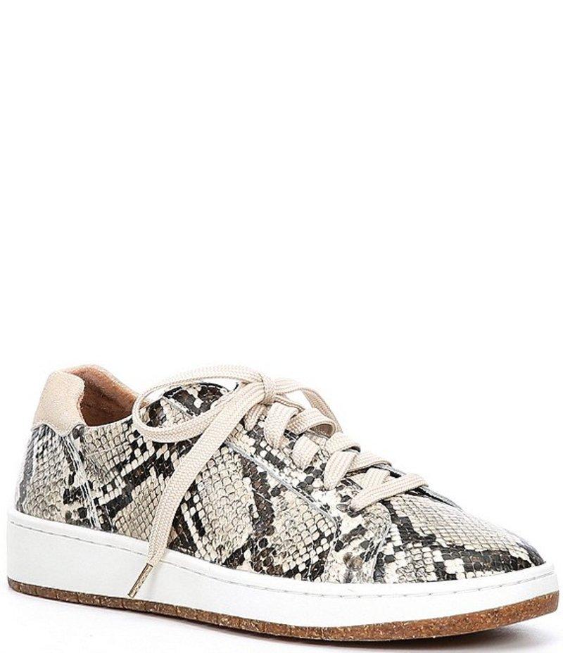 オックスフォード Snake Snake Blaks Print レディース Leather エイトレックス シューズ Sneakers