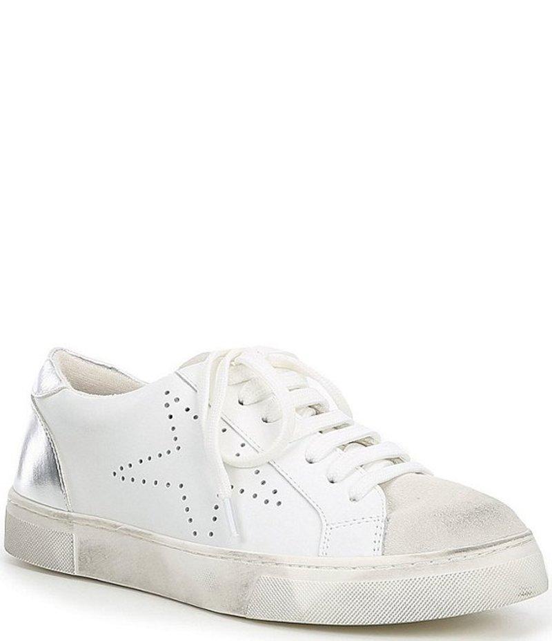 スティーブ マデン レディース スニーカー シューズ Rezume Leather & Suede Sneakers White