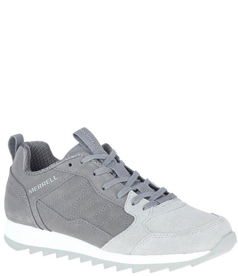 メレル レディース ヒール シューズ Alpine Colorblock Suede Sneakers Charcoal:ReVida 店