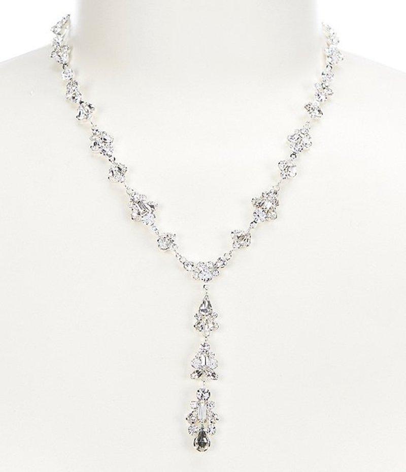 セザンヌ レディース ネックレス・チョーカー アクセサリー Cascading Crystal Y Necklace Silver