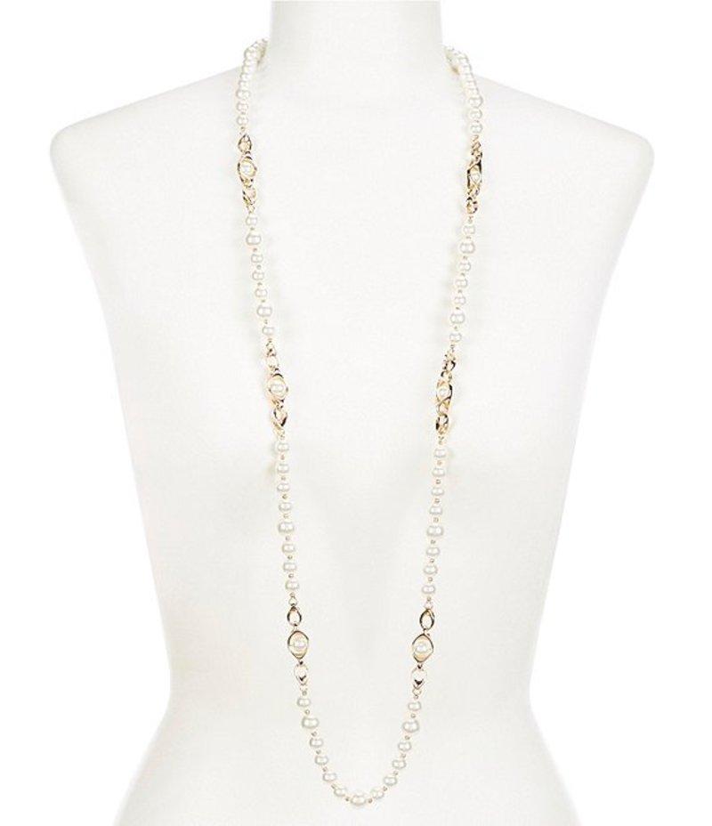 アンクライン レディース ネックレス・チョーカー アクセサリー Pearl Strand Necklace Pearl