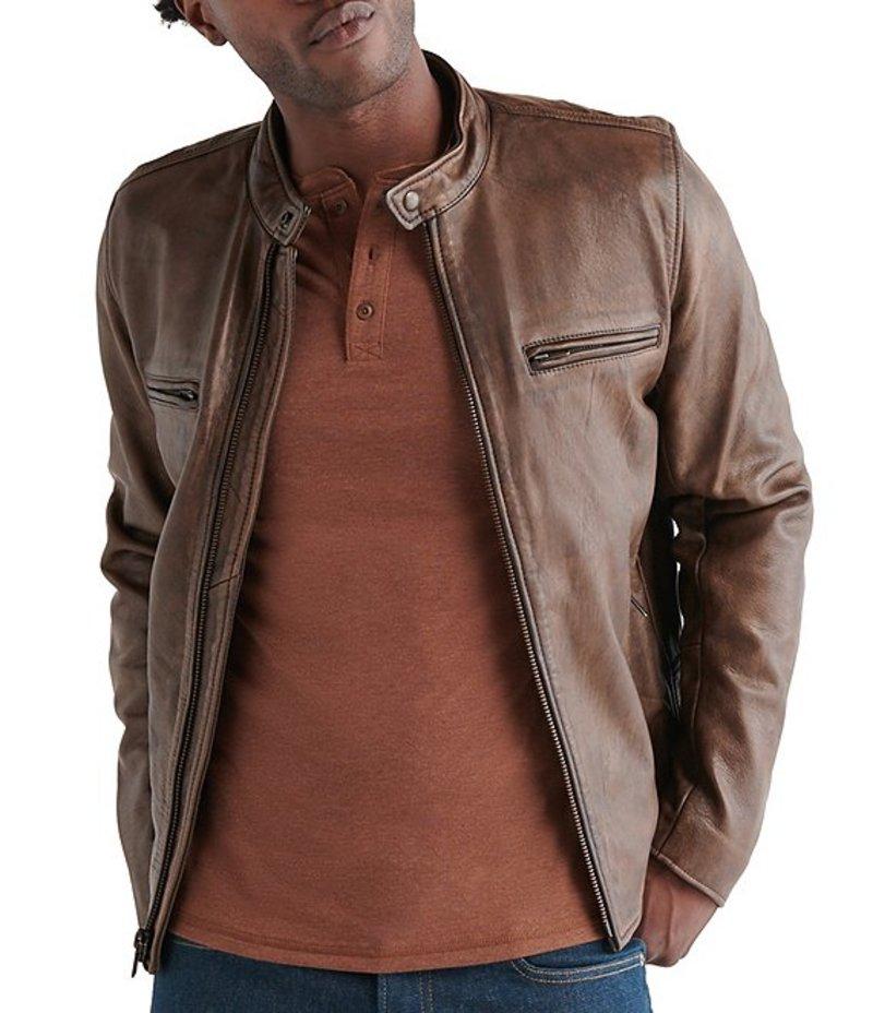 最新 ラッキーブランド メンズ メンズ ジャケット Leather・ブルゾン Jacket アウター Vintage Leather Jacket Pinecone, SAMURAI CRAFT サムライクラフト:3f12f2fe --- experiencesar.com.ar