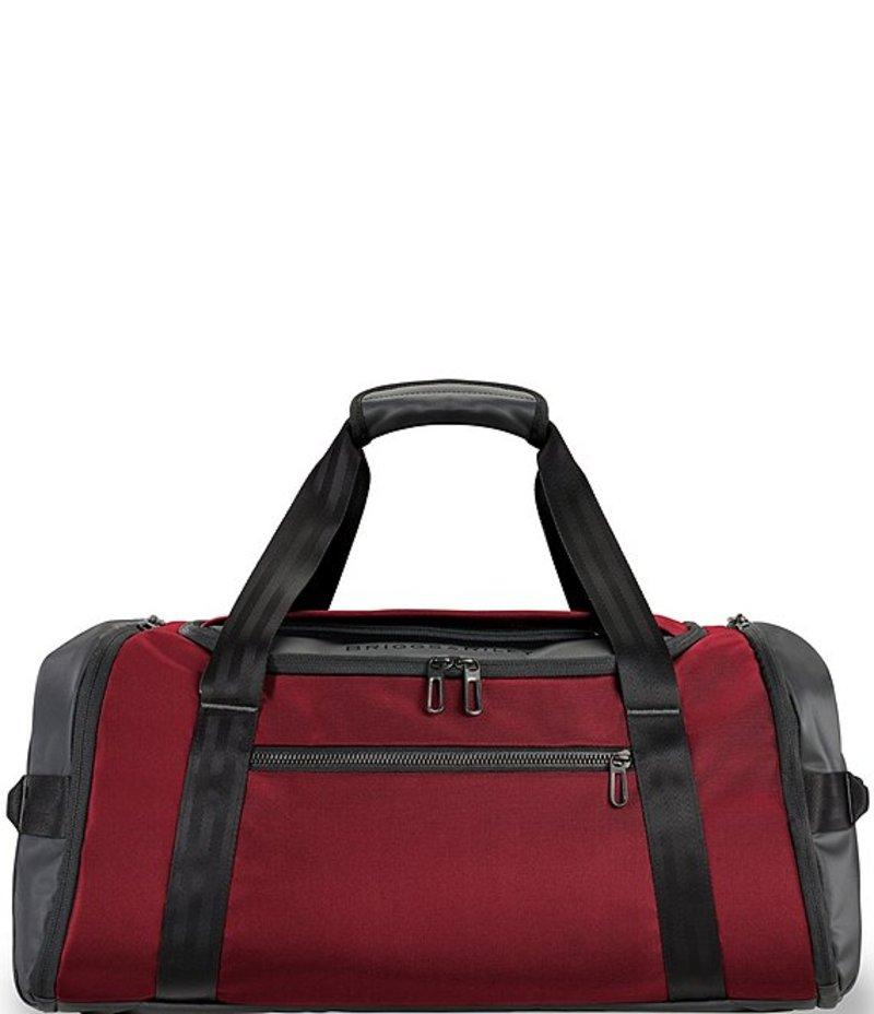 ブリグスアンドライリー レディース ボストンバッグ バッグ ZDX Large Travel Duffel Bag Red Brick