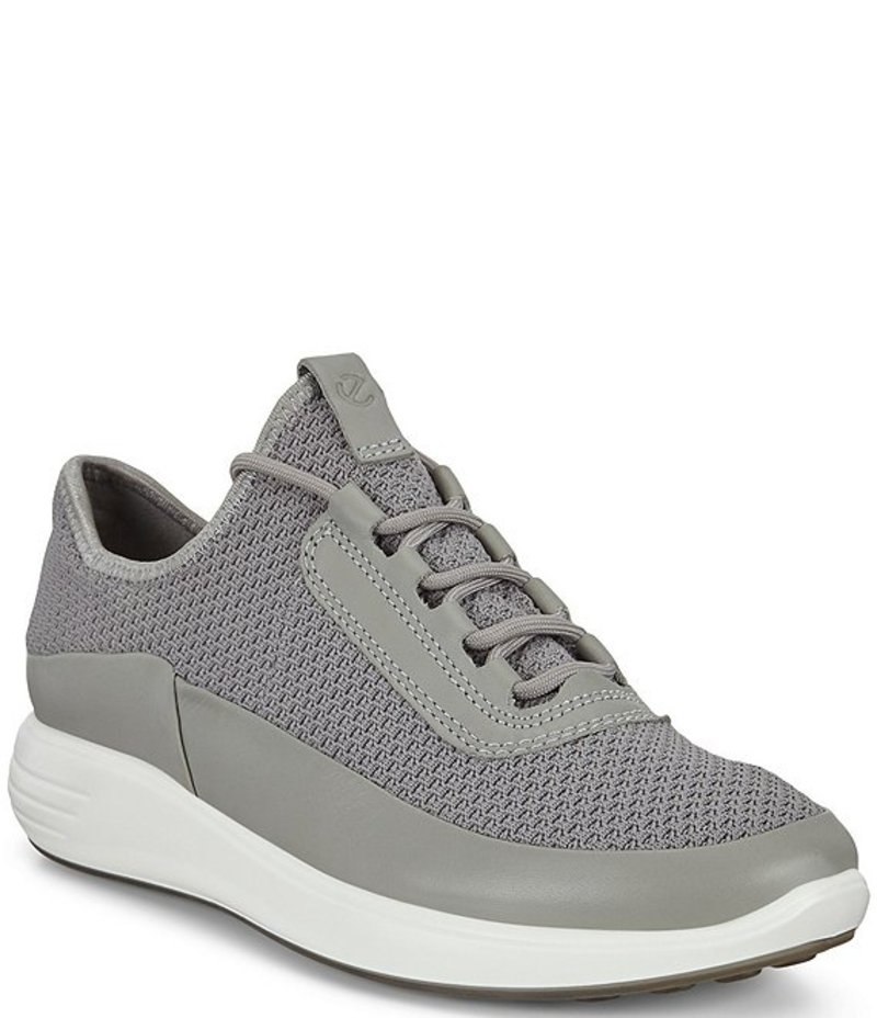 エコー レディース スニーカー シューズ Women's Soft 7 Runner Sneakers Wild Dove/Concrete