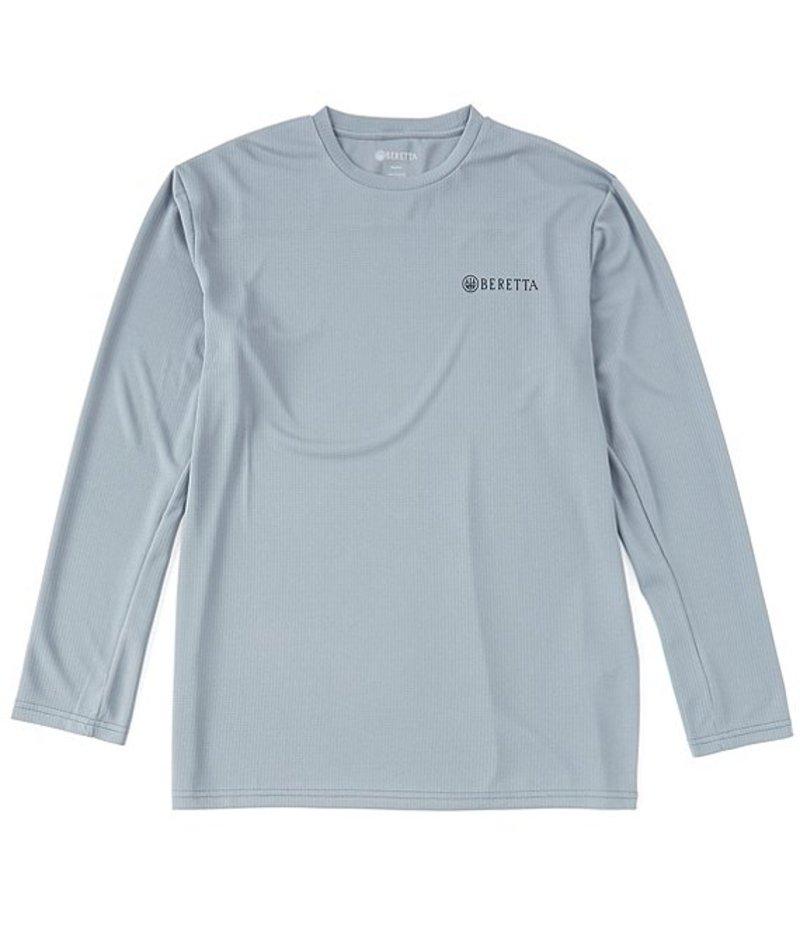 ベレッタ メンズ シャツ トップス US Tech Stretch Long-Sleeve Tee Grey Castlerock