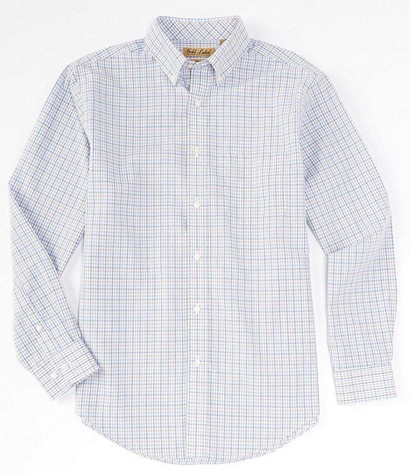ラウンドトゥリーアンドヨーク メンズ シャツ トップス Gold Label Long-Sleeve Multi Check Sportshirt Chino