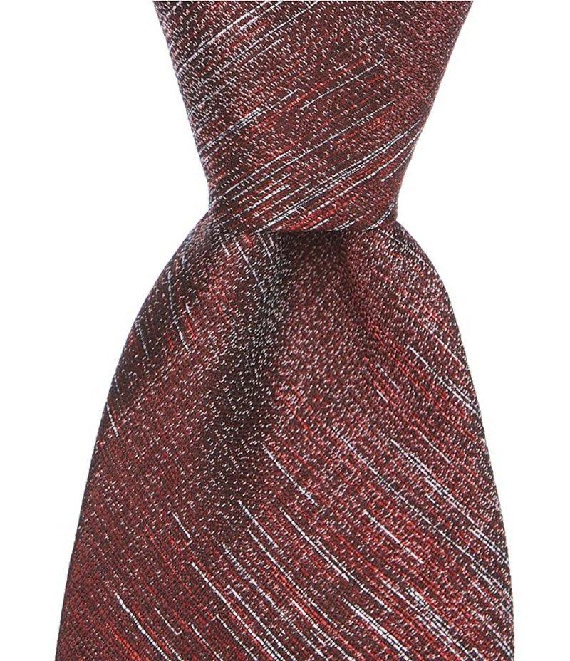 ムラノ メンズ ネクタイ アクセサリー Upton Random Traditional 3 1/8#double; Silk Tie Red