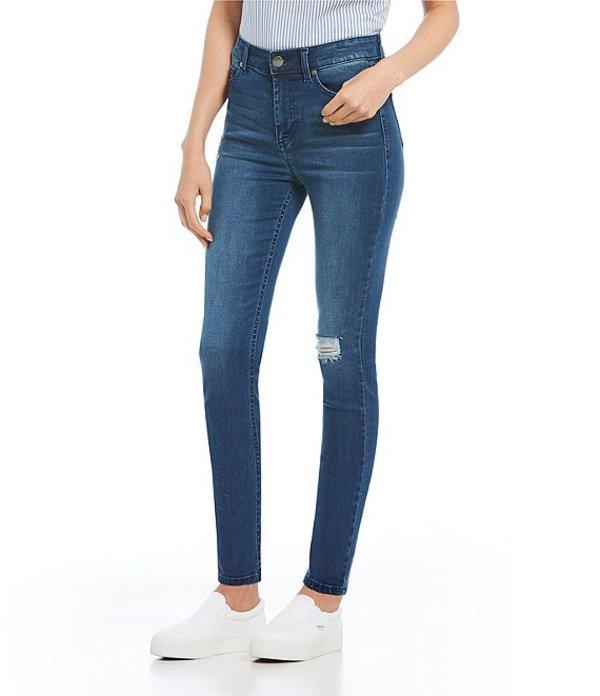 セレブリティピンク レディース デニムパンツ ボトムス High Rise Lyocell Skinny Jeans Magnetize