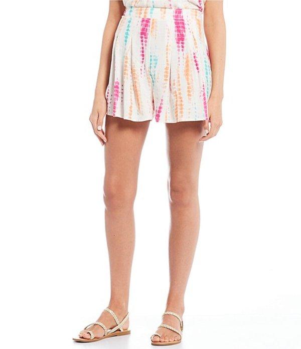 ジービー レディース ハーフパンツ・ショーツ ボトムス Coordinating Tie Dye Shorts Pink Multi