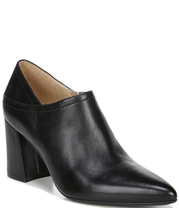 ナチュライザー レディース ブーツ・レインブーツ シューズ Holliday Leather Shooties Black Leather