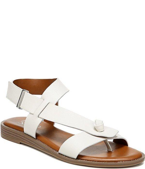 フランコサルト レディース サンダル シューズ Glenni Leather Thong Sandals Putty