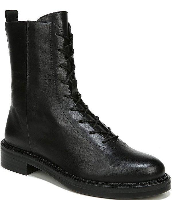 サムエデルマン レディース ブーツ・レインブーツ シューズ Nellyn Leather Combat Booties Black